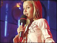 Croatian Junior Eurovision contestant