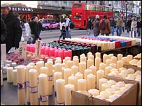 Candle stall