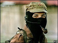Zapatista leader Subcomandante Marcos. File photo