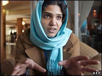 Sabrina Saqeb, Afghan MP