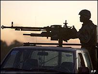 Joint Iraqi-US patrol in Diyala