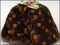 Oxo Christmas pudding