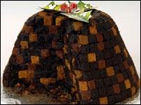 Oxo Christmas pudding