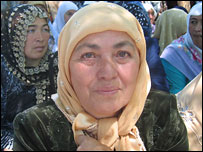 Rahbarhan Shakirova, the mother of two of the men on trial