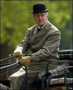Prince Philip at the Royal Windsor Show