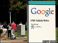 Workers at Google's US headquarters