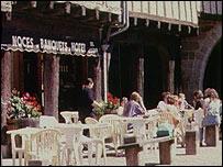 Французский ресторан (снимок из архива)
