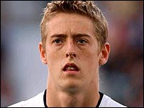 Southampton striker Peter Crouch