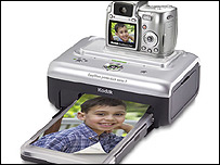 Kodak digital camera and printer