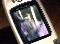 Slapping attack on mobile phone
