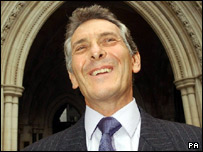 Nicholas van Hoogstraten outside the High Court in July 2004