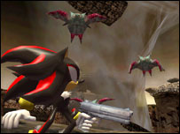 Screenshot from Shadow the Hedgehog, Sega