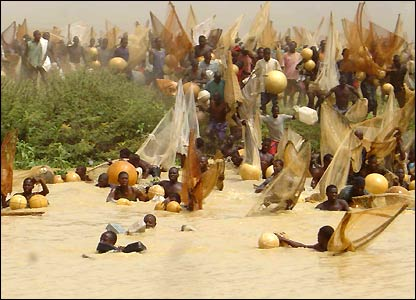 Nigerian fishermen
