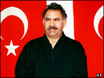 Abdullah Ocalan, former PKK leader (file photo)