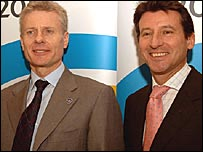 Paul Deighton and Lord Coe