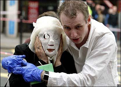 London bomb victims