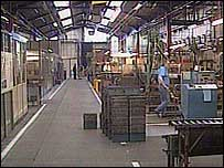 Inside the Floform plant (library pictures)