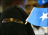Somali woman in Kenya