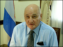 Emilio Gardel Codas, directivo de la Asociaci�n Rural del Paraguay