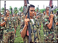 United Self Defence Forces of Colombia (AUC) - file picture