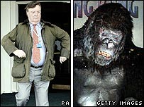 Ken Clarke and King Kong