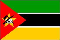 Mozambique's flag