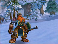 Well-equipped dwarf, Blizzard