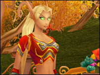 Blood elf, Blizzard