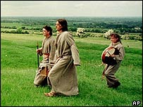 Druids on the Hill of Tara