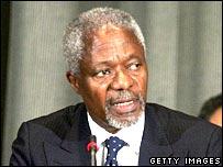 Kofi Annan.  Image: Getty Images