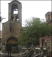 Church of the Holy Virgin of Ljeviska in Prizren