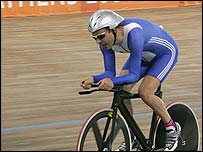 Paralympic cycling champion Darren Kenny