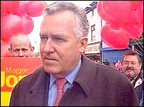 Peter Hain campaigning in Blaenau Gwent