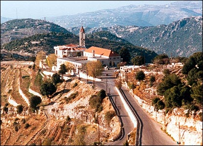 Monastery of Saint Maron in Annaya, Lebanon