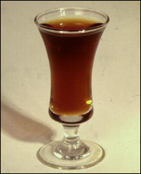 Old-fashioned sherry glass