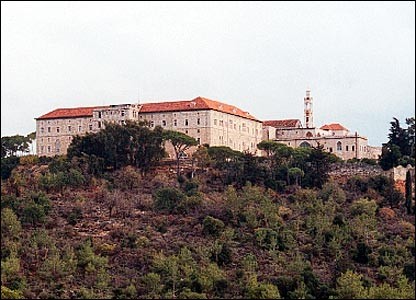 Deir el-Moukhalles monastery in Chouf, Lebanon