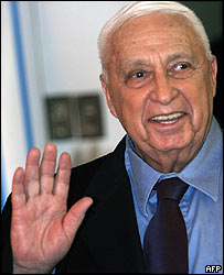Ariel Sharon leaves hospital in Jerusalem