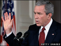 President Bush at news conference