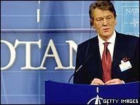 Ukraine's President Viktor Yushchenko