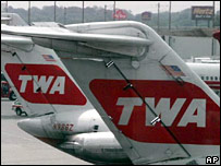 TWA planes