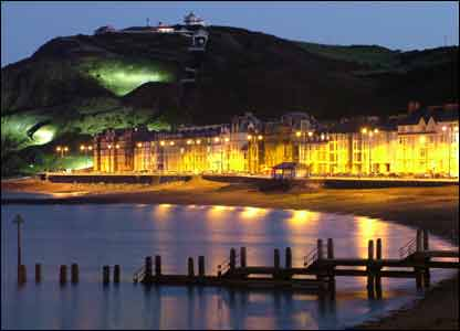 Aberystwyth on a frosty morning, by Mike Thomas