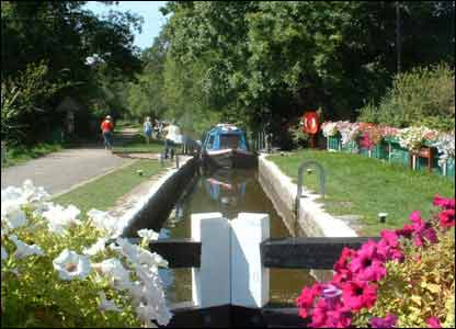 Michael Davies from Maesteg sent in this picture of the Brecon canal