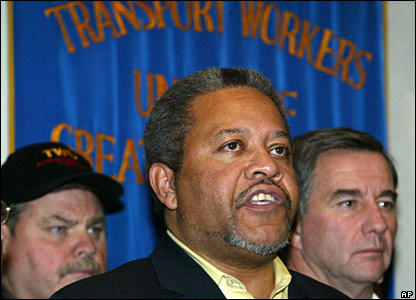 Transport Workers Union delegate Roger Toussaint