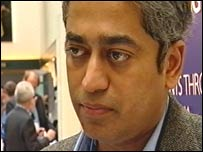 Rajdeep Sardesai. TV 18