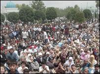 Protest in Andijan - 13/5/04