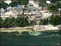 Islas Maldivas tras el tsunami