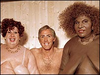 Rob Brydon (centre) with Matt Lucas (left) and David Walliams in Little Britain