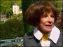 Fenella Fielding at Portmeirion