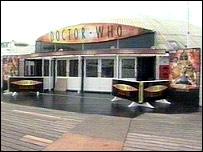 Doctor Who exhibition on Brighton Pier