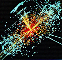 Simulation of Higgs decay, Cern